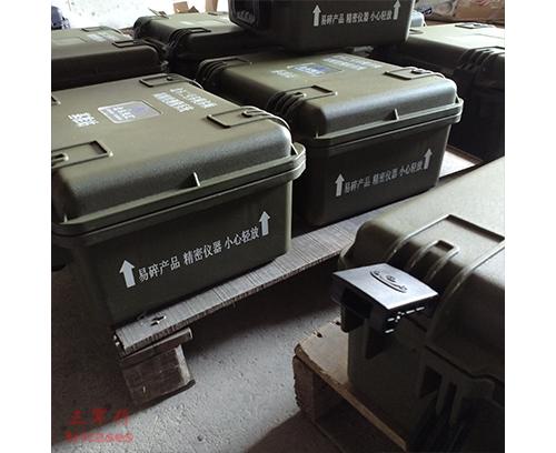 三军行定位导航系统安全箱M2360墨绿色工厂定制