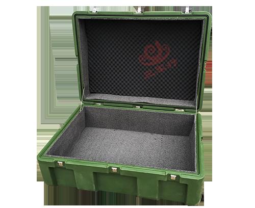 绿色三军行RS860 军用空投箱 滚塑箱 厂家定制