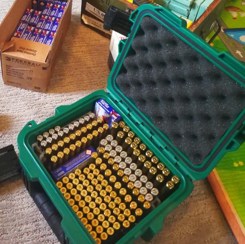 三军行定制子弹携行箱弹药箱子弹箱