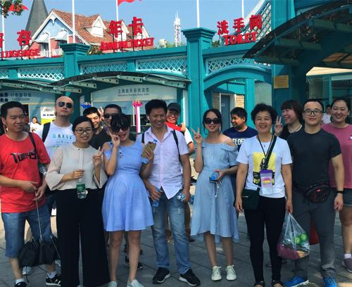 【激情酷暑】上海三军行全体员工欢乐谷一日游