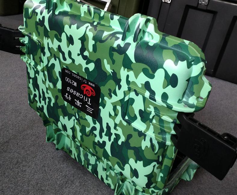 三军行21寸小型迷彩箱M2100