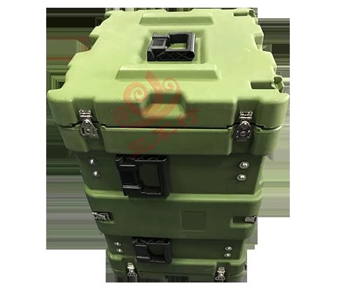三军行7U仪器仪表设备箱车载减震箱 服务器终端设备箱RU070