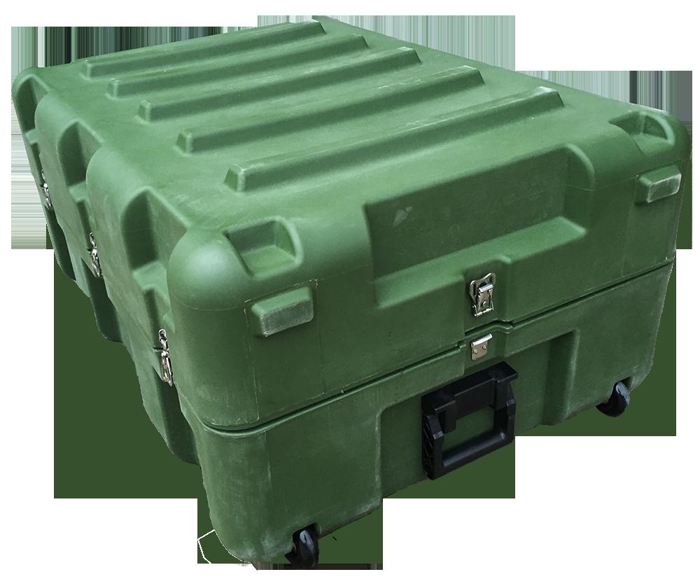 三军行中型空投箱RS860 军用滚塑箱