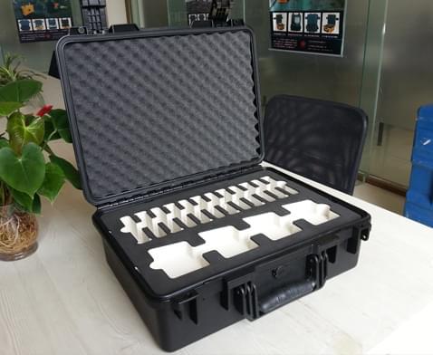 军警弹夹携行箱安全防护箱