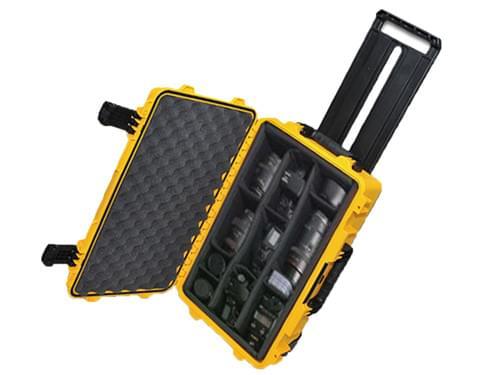 摄影器材携行箱拉杆箱