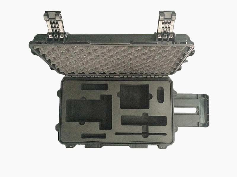 三军行单反相机 摄影器材设备箱摄影拉杆箱