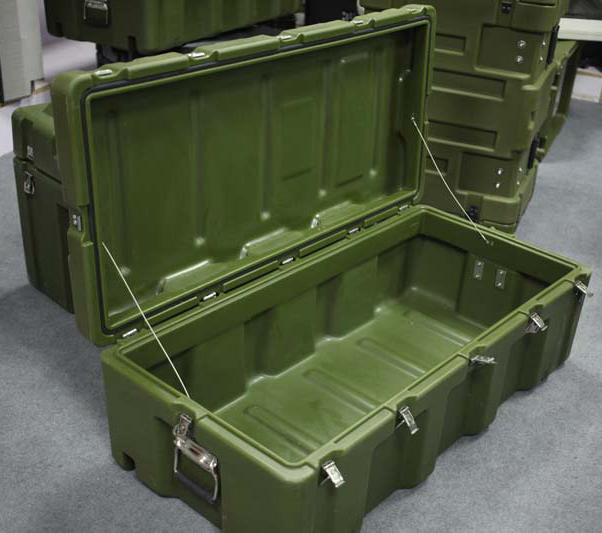 中型空投箱RS870 军用滚塑箱