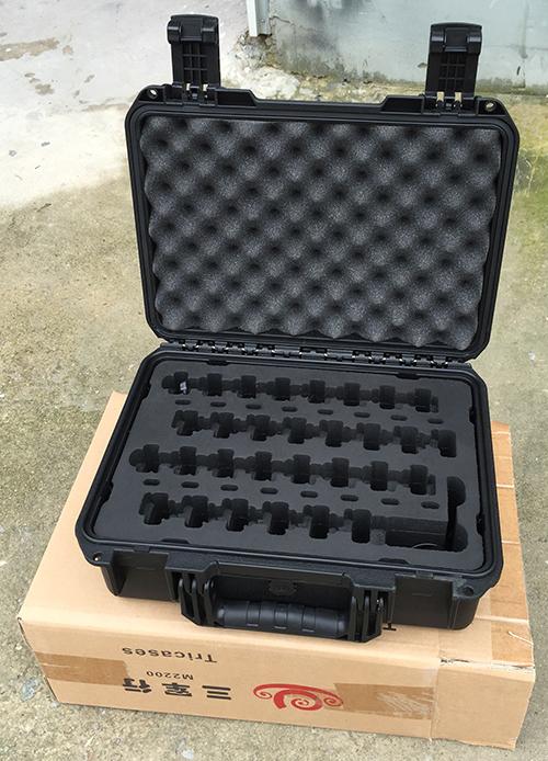 三军行安全箱定位表盘充电箱产品实拍