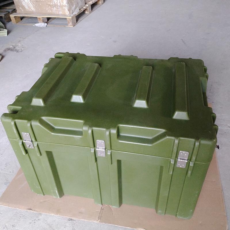 三军行 中型空投箱RS830 军用滚塑箱