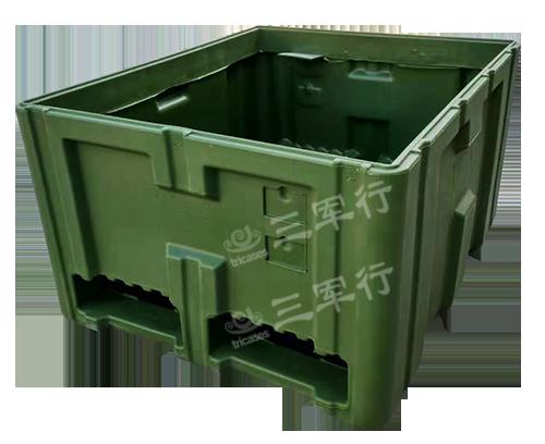 三军行RS888滚塑军用空投箱 大型军用防护箱 抗震救灾物资箱