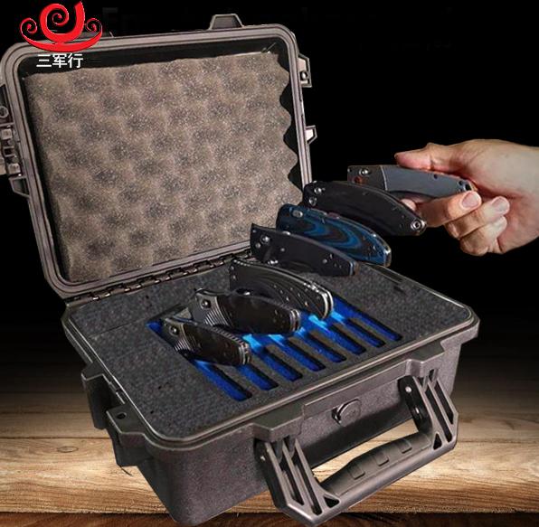 三军行收藏刀具防护箱 客户定制携行箱 M2100