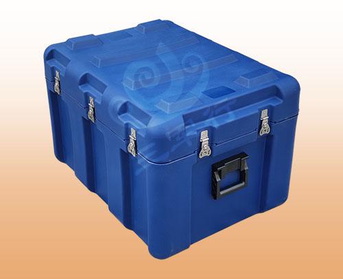 三军行新品RS829滚塑箱 小型空投箱 火焰蓝消防箱生产厂家