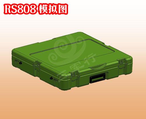 三军行RS808滚塑箱 小型空投箱 上海军用滚塑空投箱定制