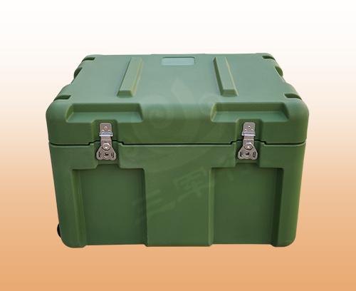 三军行新品RS806小型空投滚塑箱 设备运输箱